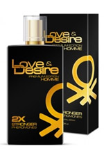 Love & Desire GOLD 2-fold concentration for Men 100ml EdP