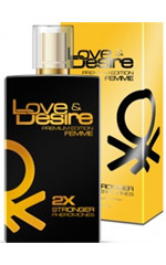 Love & Desire GOLD 2-fold concentration for Women 100ml EdP