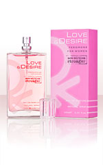 Love & Desire for Women 100ml EdP with Pheromones